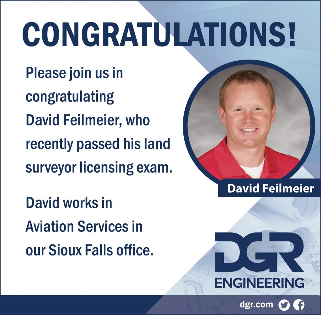 David Feilmeier Land Surveyor License