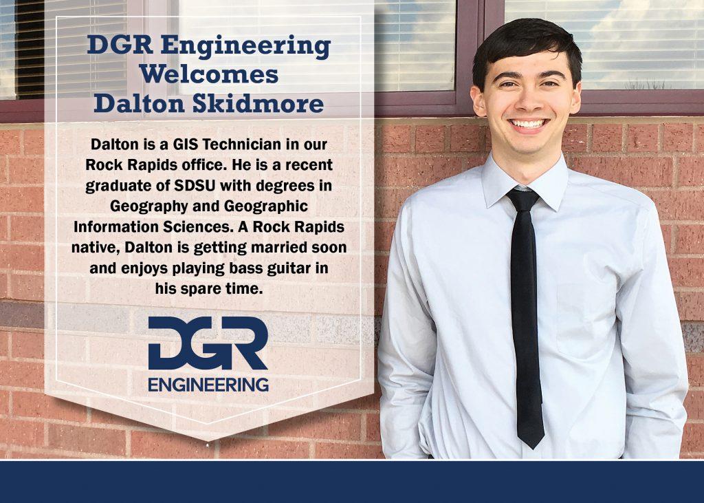 new employee Dalton Skidmore
