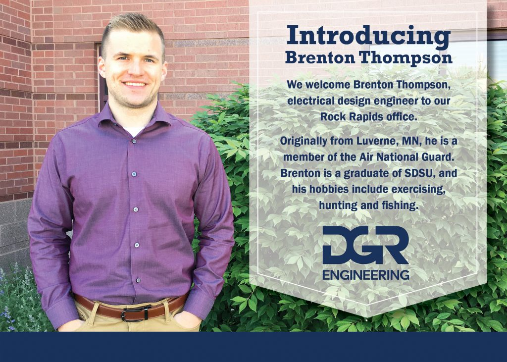 new employee Brenton Thompson