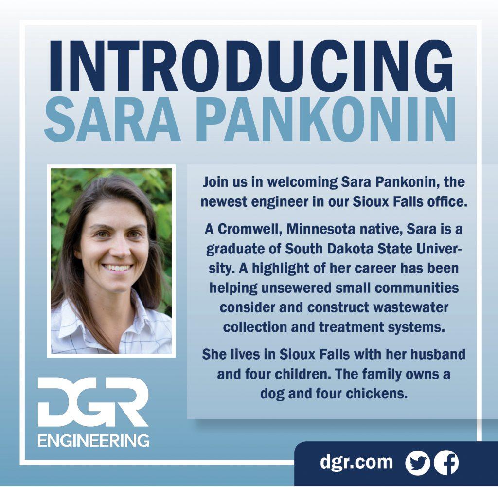 new employee Sara Pankonin