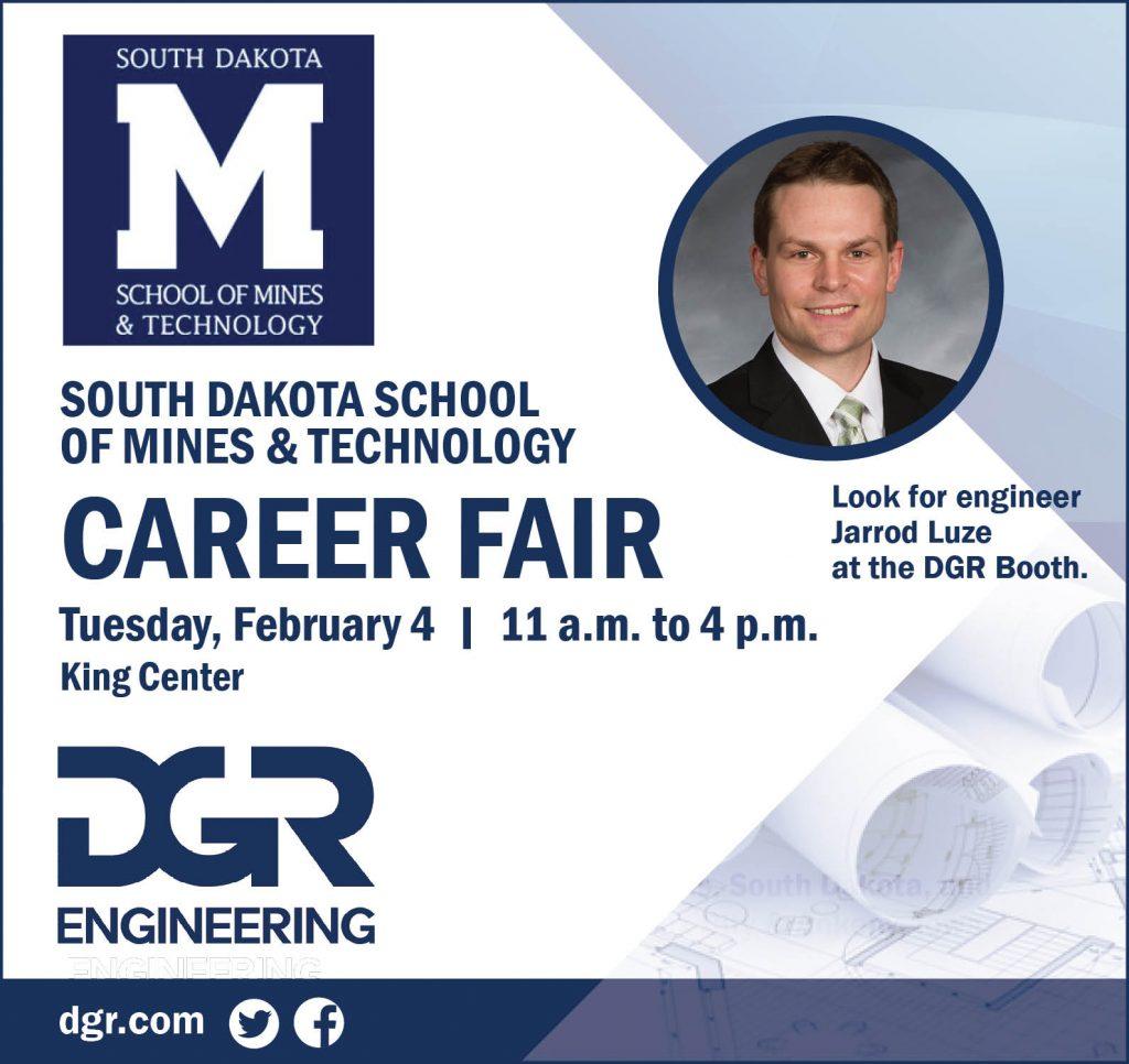 SDSMT career fair 2020.02
