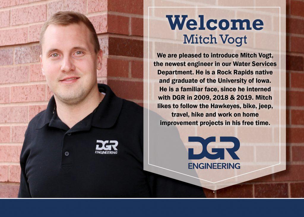 new employee Mitch Vogt