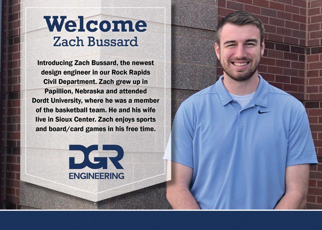 new employee Zach Bussard