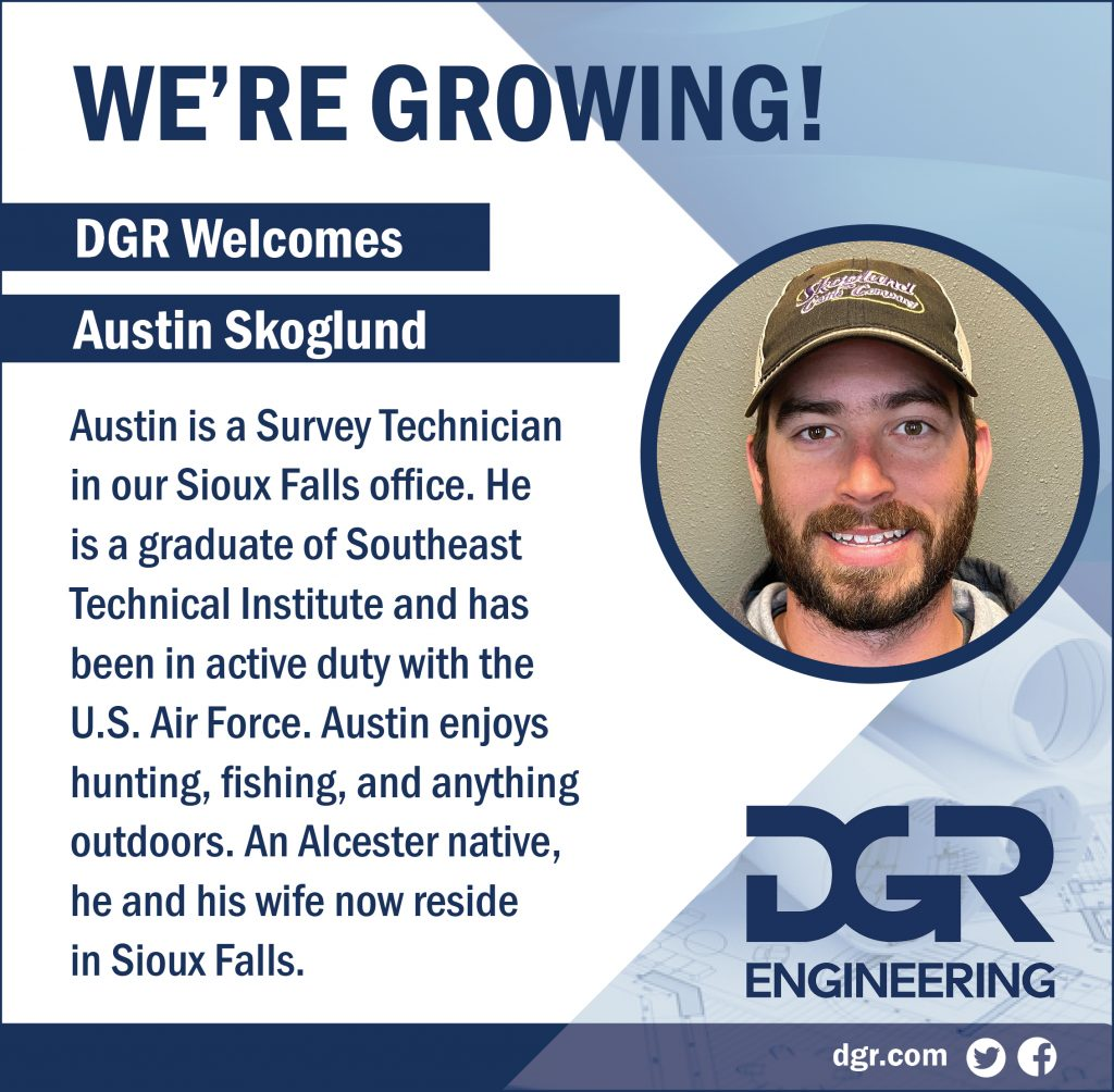 new employee austin skoglund