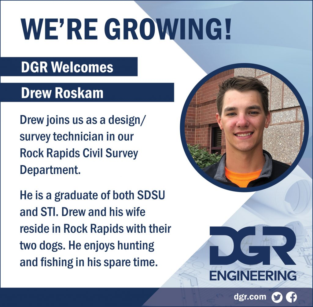 new employee drew roskam
